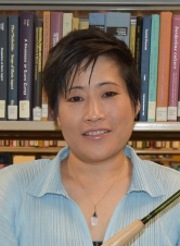 Hilary Seo, Head of the Preservation Department and the Curation Services Divisino