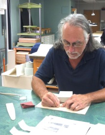 Jim Wilcox, Preservation and Binding/Marking Assistant