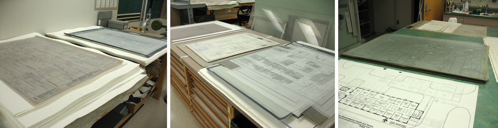 Flood Recovery Update: Mylar Drawings | Parks Library
