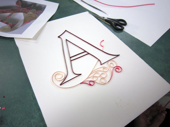 Paper quilling for gentle ladies of quality parks library share this altavistaventures Gallery