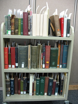 Brittle books awaiting bibliographic review.