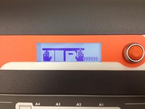 CoLibri LCD screen
