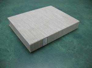 Drop-spine box, exterior