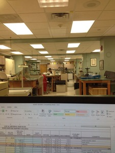 My view of the lab