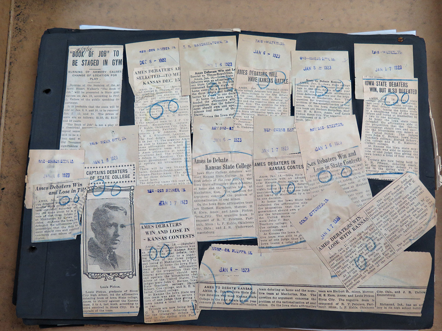 How to scrapbook with newspaper clippings - I M Pretty Sure That The Clippings Came From A Clipping Service Can Anyone Confirm That And Does Anyone Know What Is It With The Circles