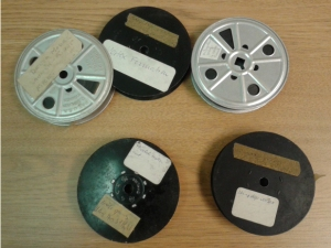 The Lippisch Films in their original reels.