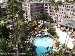 The present day Fairmont Miramar Hotel