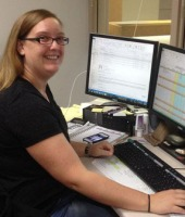 Mindy McCoy, Digital Reformatting Specialist, Preservation Assistant
